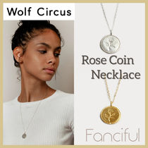 Wolf Circus(ウルフサーカス) ネックレス・ペンダント 【Wolf Circus】ローズネックレス Rose Necklace