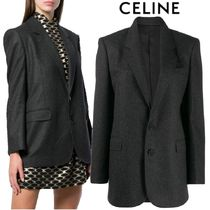 【19AW】★CELINE★single-breasted jacket