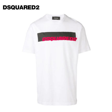 【D SQUARED2】 ロゴ Tシャツ S71GD0762 S22427 100