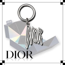 ☆Dior☆真鍮☆DIOR AND RAYMOND PETTIBON☆キーホルダー☆