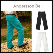 [ANDERSSON BELL正規品] ARSEN STITCH POINT CARPENTER PANTS