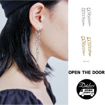 OPEN THE DOOR several circles earring (2 color) NR593 追跡付