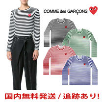 COMME des GARCONS(コムデギャルソン) Tシャツ・カットソー [即発] COMME des GARCONS レディース ボーダー ロンT
