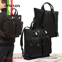関税込み国内発送 PRADA☆Technical Fabric Backpackトート