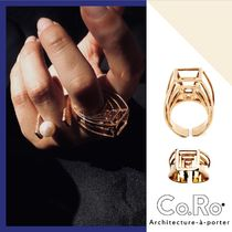 VOGUE掲載 日本完全未入荷Co.Ro.Jewels PROSPETTIVA RING GOLD
