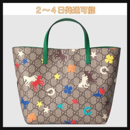 new styles 3cb63 f26e4 最新作【国内発送】GUCCI GG ランチ(牧場) トートバッグ