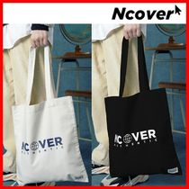 ☆韓国の人気☆【NCOVER】☆AUTHENTIC LOGO ECO BAG☆2色☆