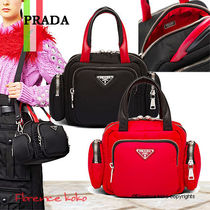 関税込国内発送 Prada Nylon Cargo Top-handle  Bag 1BB061 2CKI