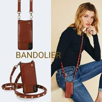 ★BANDOLIER★Sienna Pebble Leather iPhoneケース