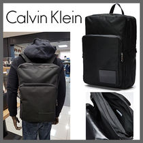 海外限定★Calvin Klein★Essentials Backpack★Black★安全発送