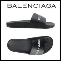 ★関税込/安全発送★BALENCIAGA★EVERYDAY LOGO SANDALS★