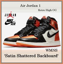 Air Jordan 1 Retro High OG 'Satin Shattered Backboard' WMNS