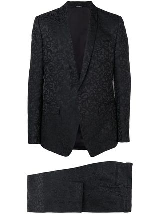 Dolce & Gabbana スーツ 関税込◆floral jacquard two piece suit(4)