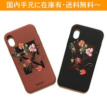 OFF-WHITE FLOWERS iPhone case