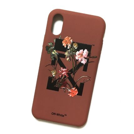 Off-White スマホケース・テックアクセサリー OFF-WHITE FLOWERS iPhone case(2)