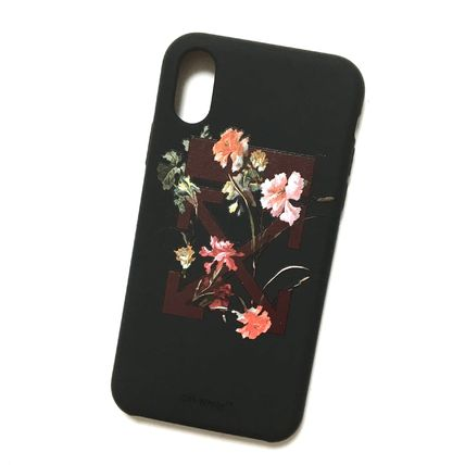 Off-White スマホケース・テックアクセサリー OFF-WHITE FLOWERS iPhone case(4)