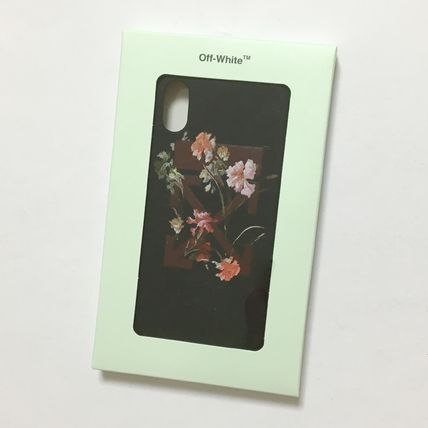 Off-White スマホケース・テックアクセサリー OFF-WHITE FLOWERS iPhone case(13)