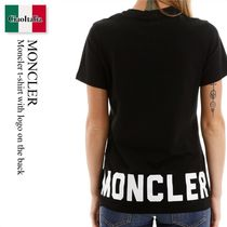 Moncler t-shirt with logo on the back