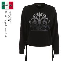 Fendi cropped sweatshirt