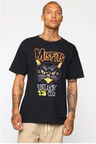 【関税・送料込】Misfits Short Sleeve Tee - Black/Yellow