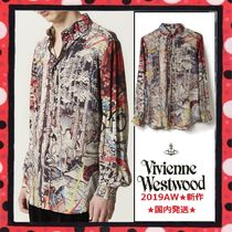 19AW★国内発送 Vivienne Westwood HUNTING FIRE TAPESTRY SHIRT