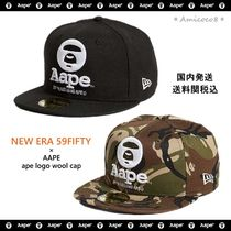 87fc4f31 AAPE By A Bathing Ape☆NEW ERA 59FIFTY コラボ キャップ