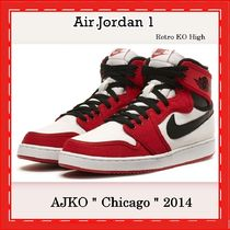 "NIKE Air Jordan 1 Retro ""AJKO"" ""Chicago"" GYM RED 2014"