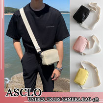 ASCLO★韓国の人気★UNISEX CROSS CAMERA BAG 4色