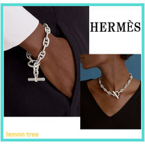 HERMES 《Chaine d'Ancre 》ブレスレット MM シルバー
