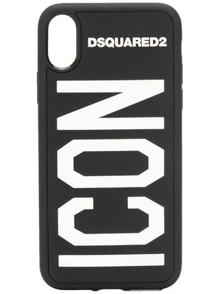 D SQUARED2 スマホケース・テックアクセサリー 【関税・送料無料】D SQUARED2 COVER CASE FOR IPHONE X 3色(2)