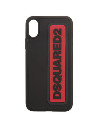 D SQUARED2 スマホケース・テックアクセサリー 【関税・送料無料】D SQUARED2 COVER CASE FOR IPHONE X 3色(6)