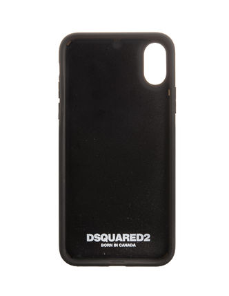 D SQUARED2 スマホケース・テックアクセサリー 【関税・送料無料】D SQUARED2 COVER CASE FOR IPHONE X 3色(7)