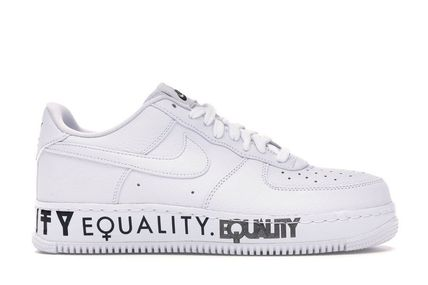 SS19 NIKE AIR FORCE 1 LOW EQUALITY WHITE MEN'S 23-33cm