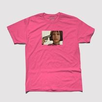 maybe today nyc leon Tシャツ pink supreme nike kith stussy