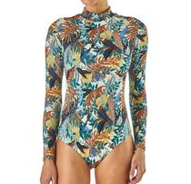 Patagonia♡Long-Sleeved Swell Seeker One-Piece Swimsuit