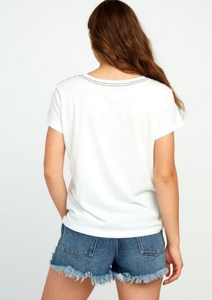 RVCA Tシャツ・カットソー ★RVCA Angler Relaxed ポケット ロゴ Tシャツ 送料込★(4)
