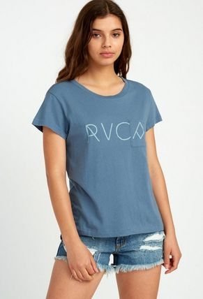 RVCA Tシャツ・カットソー ★RVCA Angler Relaxed ポケット ロゴ Tシャツ 送料込★(8)