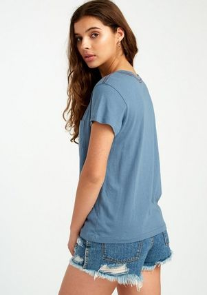 RVCA Tシャツ・カットソー ★RVCA Angler Relaxed ポケット ロゴ Tシャツ 送料込★(9)