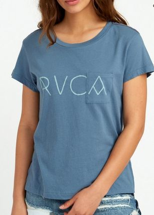 RVCA Tシャツ・カットソー ★RVCA Angler Relaxed ポケット ロゴ Tシャツ 送料込★(10)