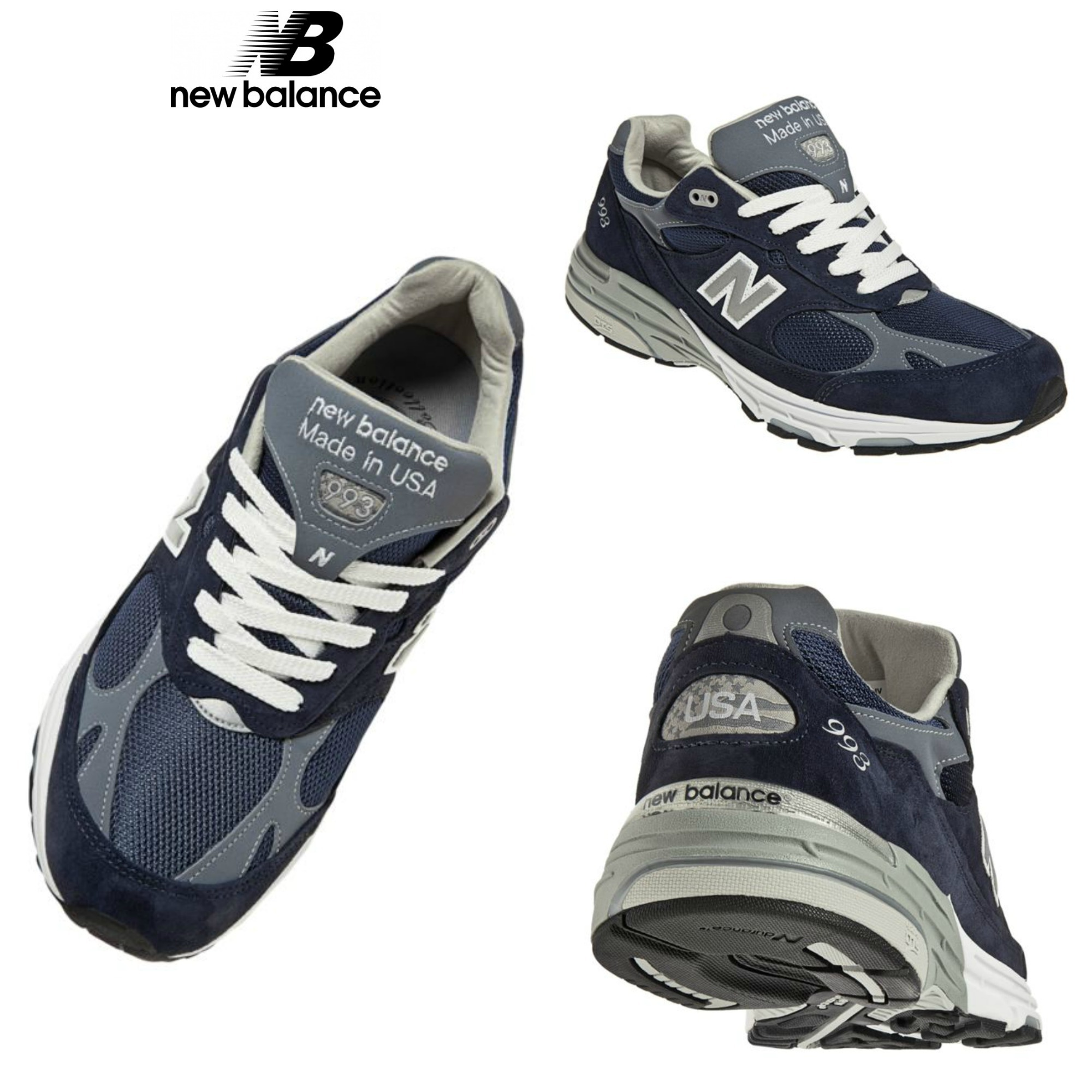 chaussures de séparation a5b16 664c3 New Balance 993 Street Style Sneakers