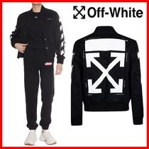 ★関税負担★人気★【Off-White】★DIAGONAL VARSITY JACKET★