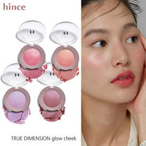 ほのかなツヤ♪hince■TRUE DIMENSION glow cheek チーク 4色