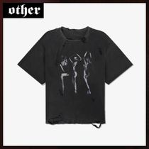 Other UK(アザーユーケー) Tシャツ・カットソー 国内発送☆OTHER UK☆DESTROYED ダンサーティー☆送料関税込み