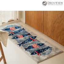 DECO VIEW (デコヴュー) ★American Fish Soft Kitchen Mat