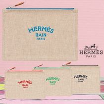 【HERMES】 ミニポーチ Trousse New Yachting, petit modele