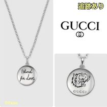 "【GUCCI 】""Blind For Love"" necklace"