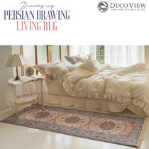 DECO VIEW (デコヴュー) ★Persian Drawing Living Rug -200X65