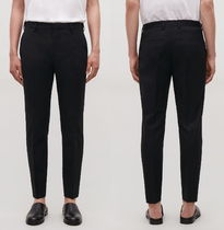 "COS(コス) パンツ ""COS MEN"" SKINNY STRETCH-COTTON TROUSERS BLACK"