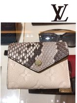 Louis Vuitton(ルイヴィトン) 折りたたみ財布 Louis Vuitton☆ポルトフォイユ  ゾエ  パイソン コンパクト