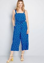 Up to You Cropped Jumpsuit